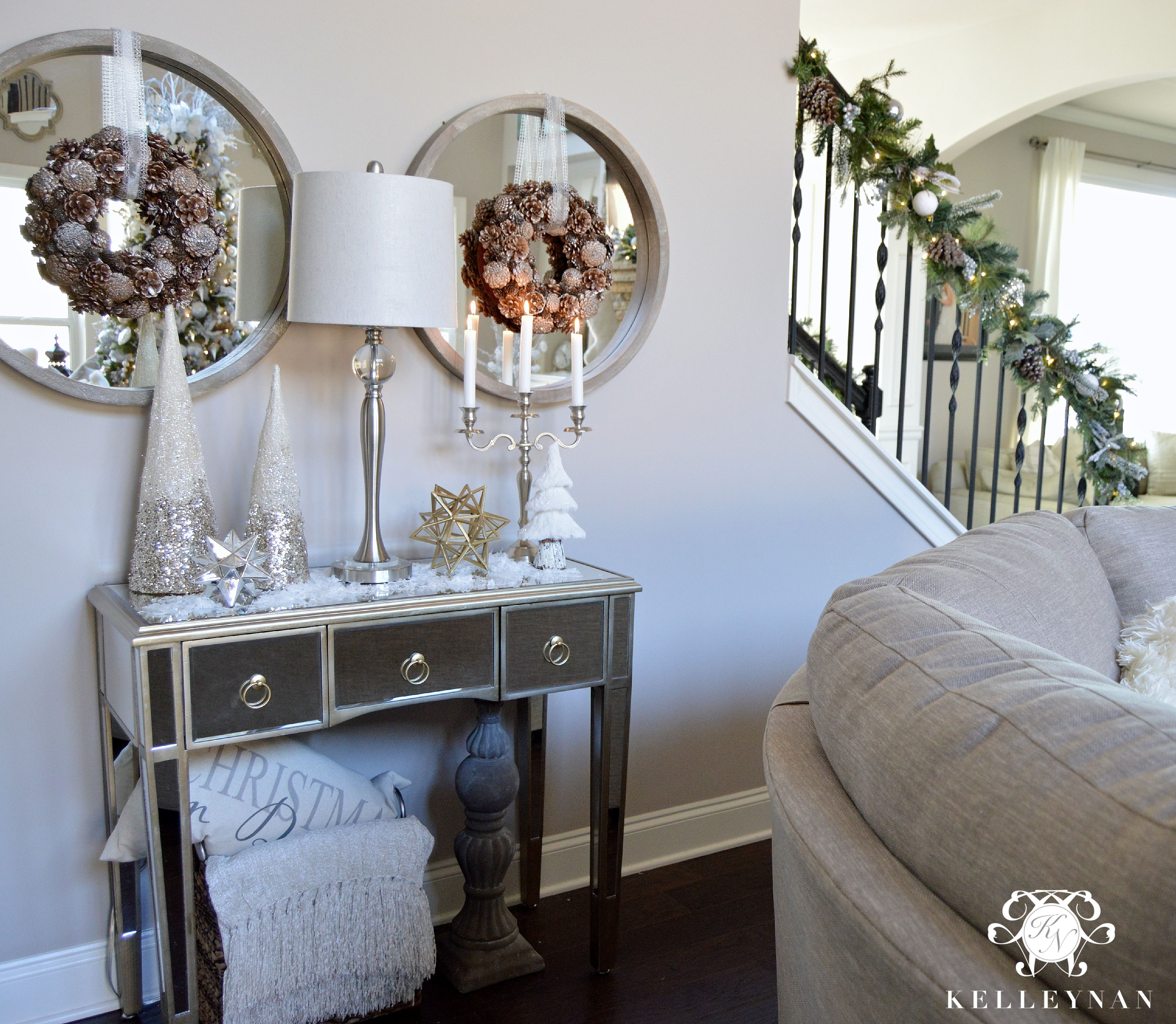 Christmas Console Table 4