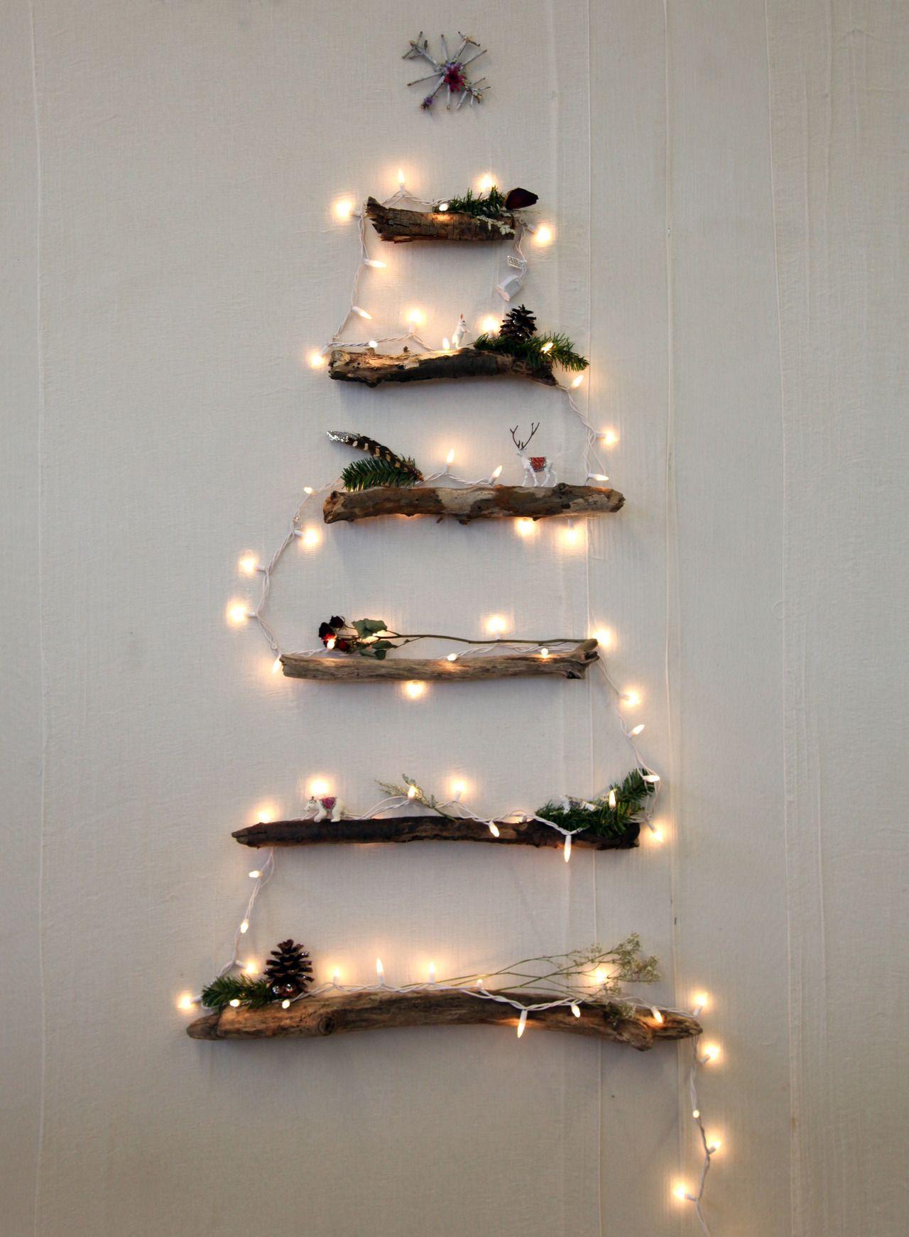 Joulukuusi seinälle