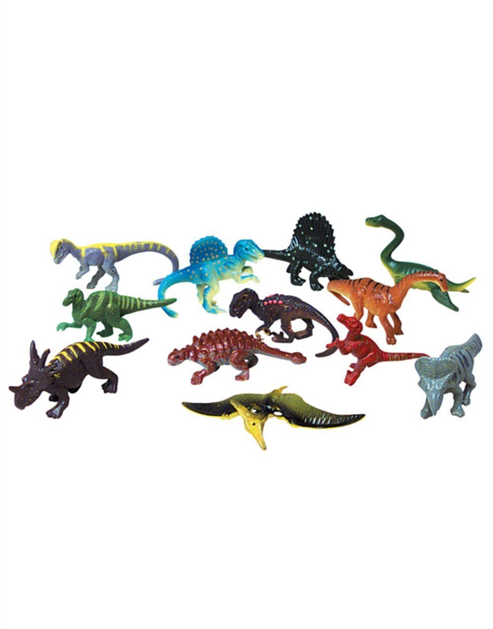 2.5 inch Plastic Toy Dino Figures New Dozen Small Toy Dinosaurs