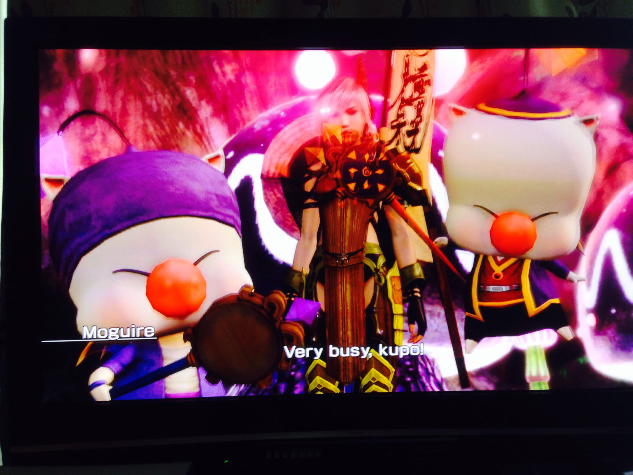 And the moogles in FFFXIII-3's moogle village are so cuddly.