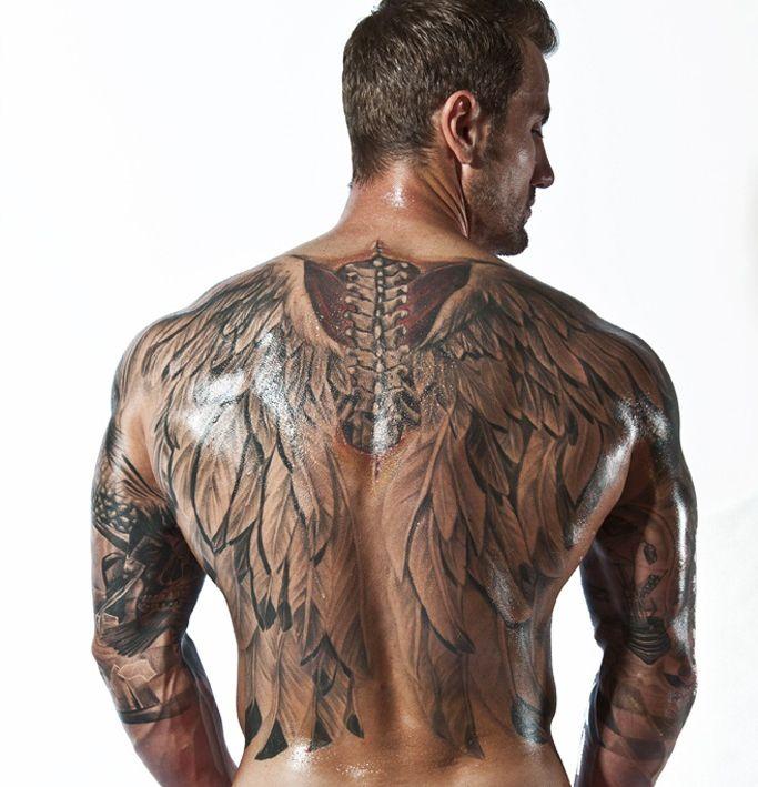 Tatuajes De Alas En La Espalda Y Su Significado Belagoria La Web