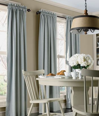 Ticking Stripes Rod Pocket Curtains Illona These Are A Great Deal