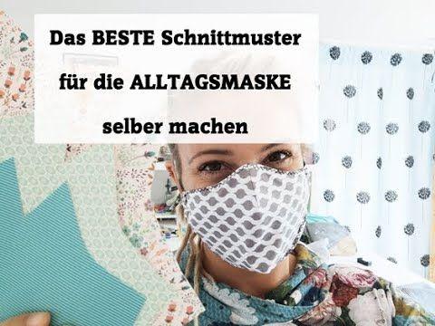 Das beste Schnittmuster für die Alltagsmaske selber machen