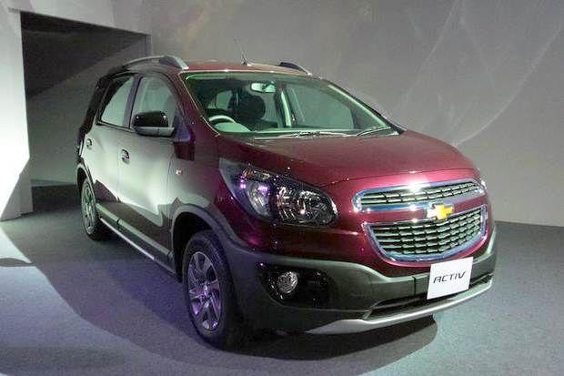 Chevrolet Spin Activ Antecipa Verso Aventureira Para O Brasil