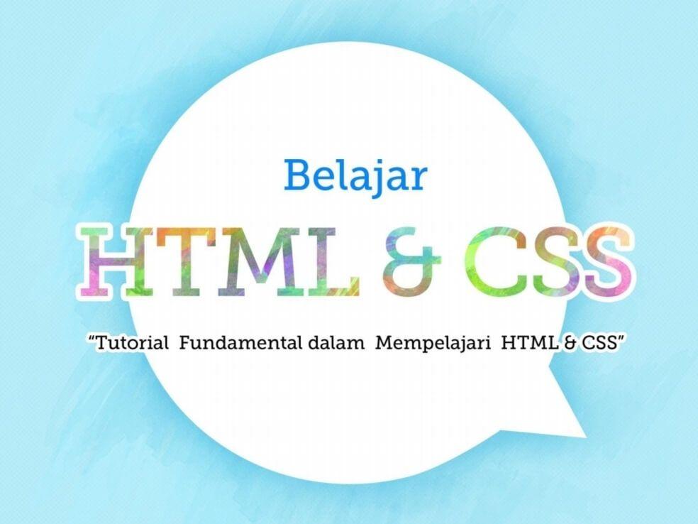 Download Ebook Belajar Html Belajar Coding Buku