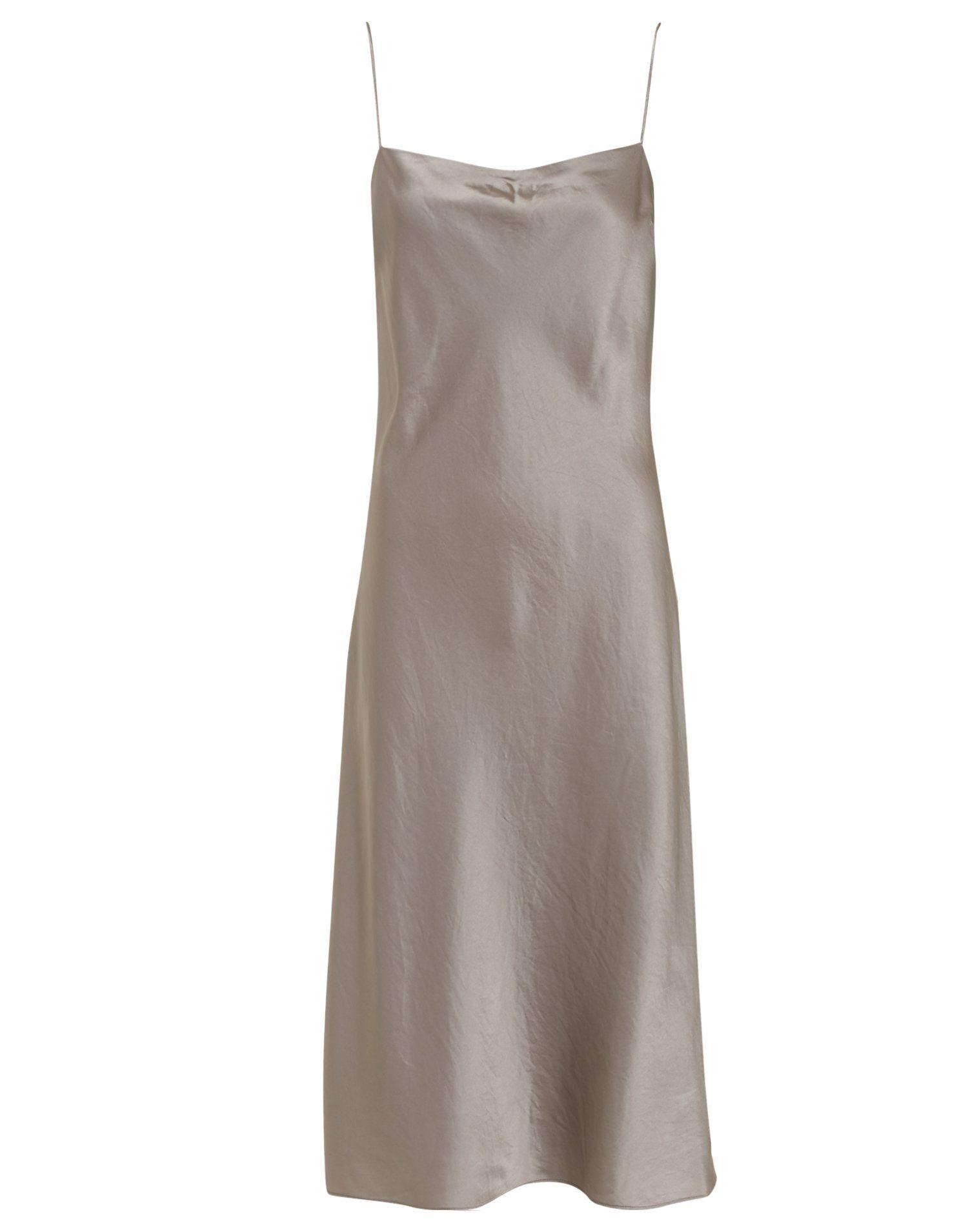 c2c6f011479 Satin Slip Dress - Filippa K - Oyster - Party Dresses - Clothing - Women -