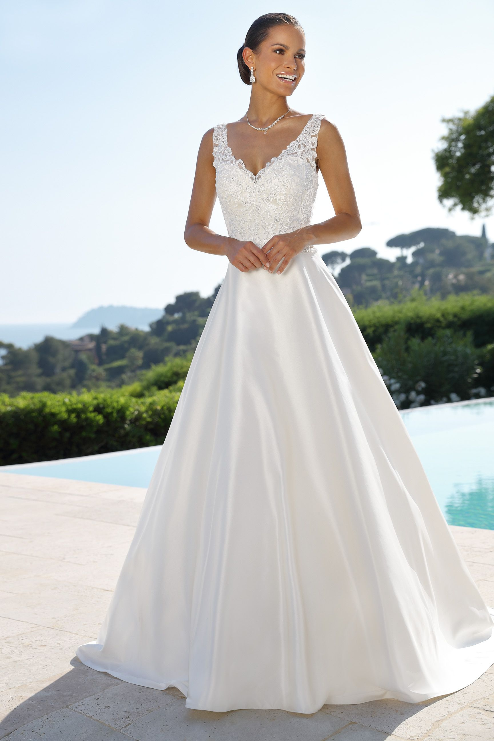 Style  New Collection Wedding Dresses   Sleeveless