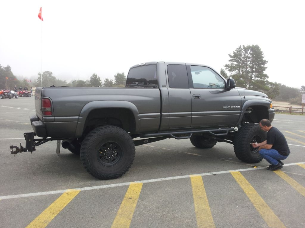 2001 dodge ram one up offroad lift