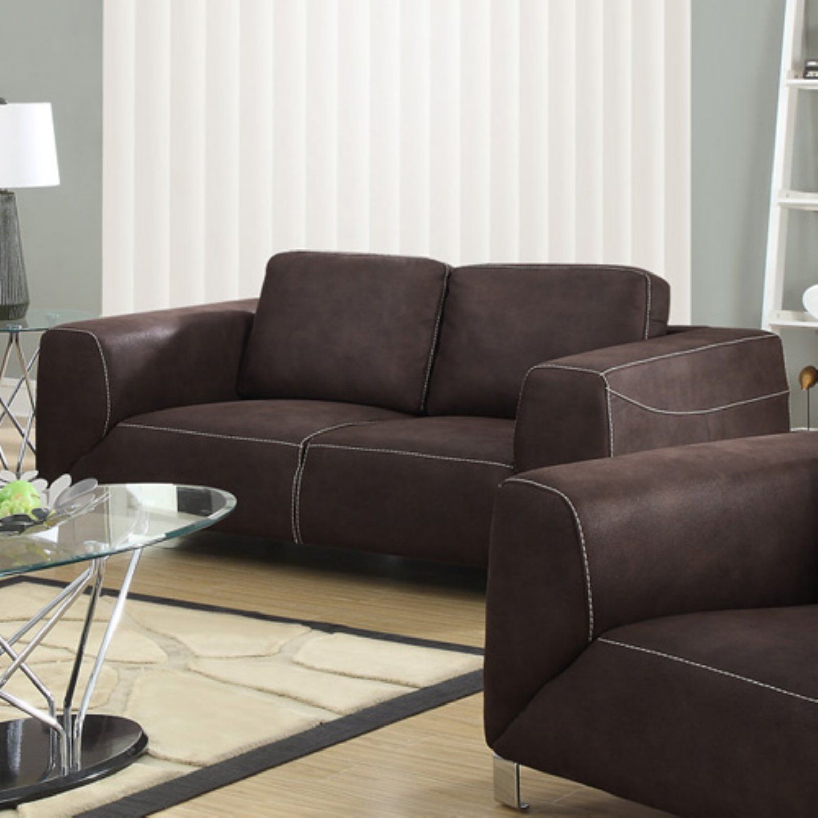 monarch specialties paxton love seat charcoal grey in 2019 rh pinterest com