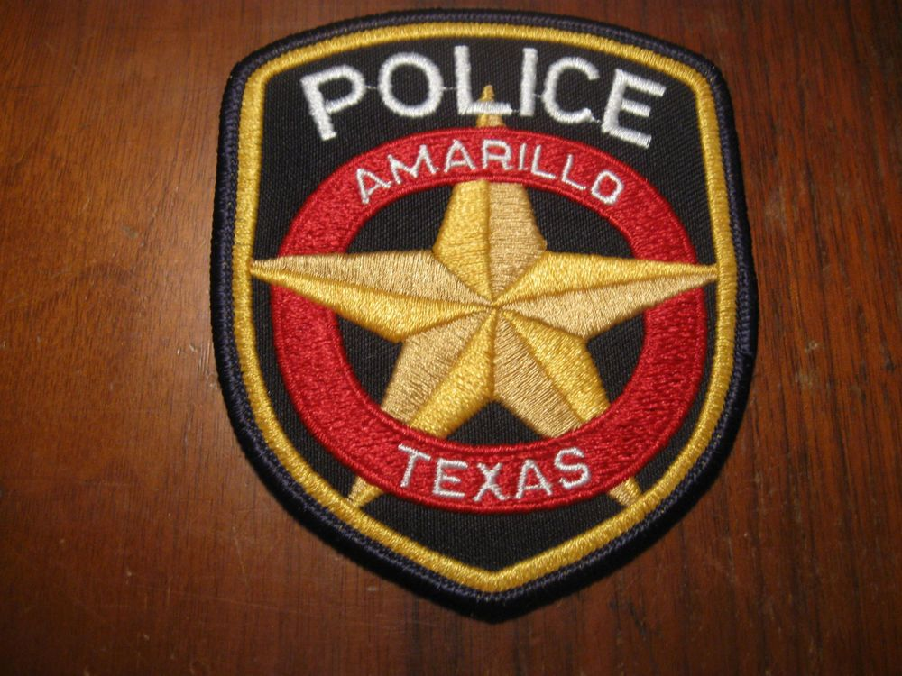 Amarillo Tx Police Patch Police Patches Police Texas Police