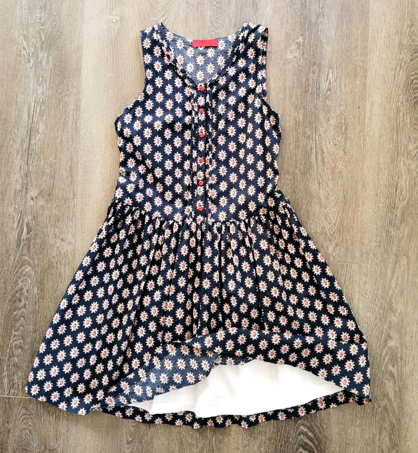 Girl Size 14 Peppermint Summer Dress Like New Condition Size Girls Dresses High Quality Dress [ 1444 x 1332 Pixel ]