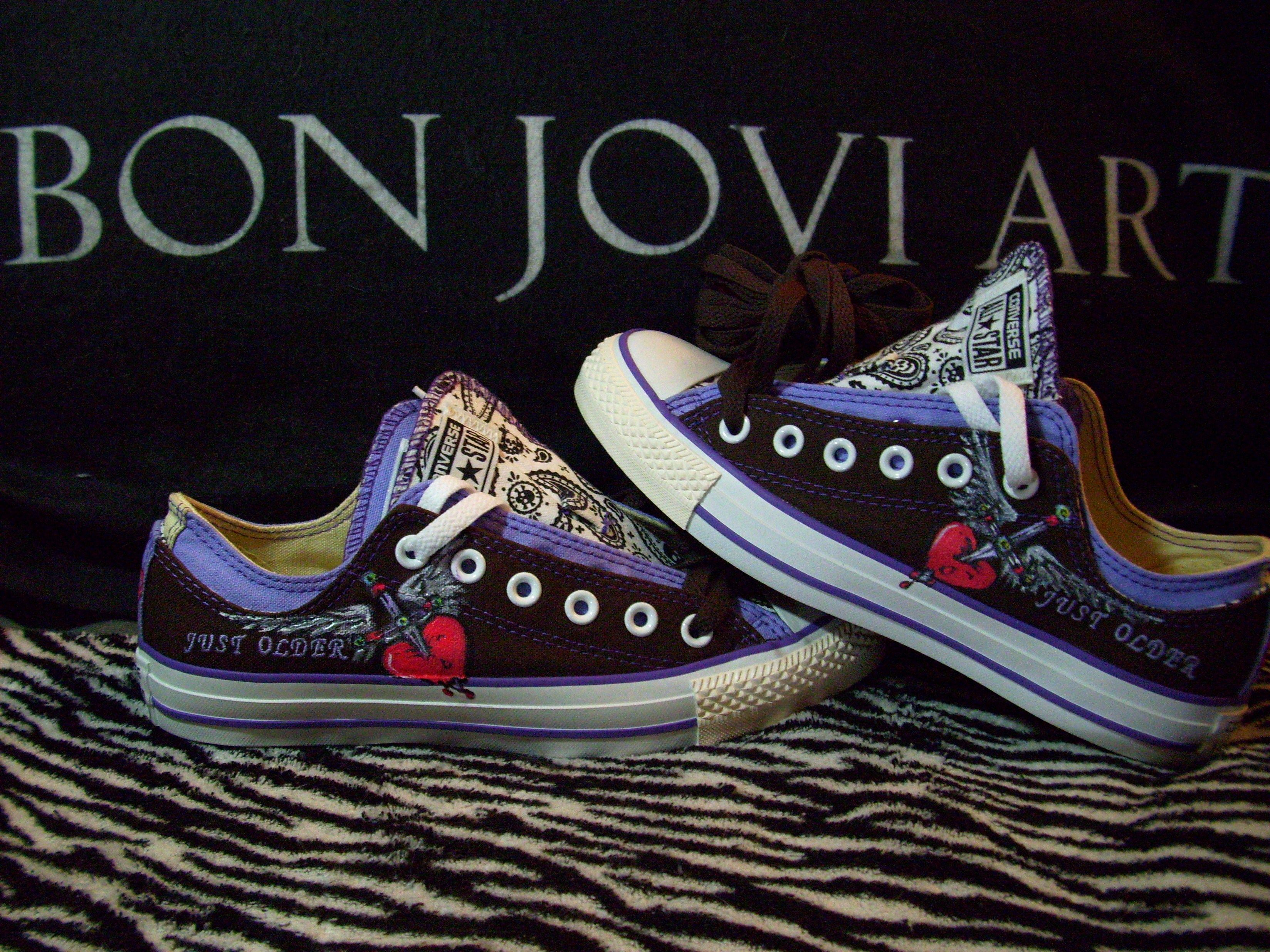 2353e7c0b1c43 Shoes Painted Converse Paintings Jovi Art My Bon Hand Hwnf844x