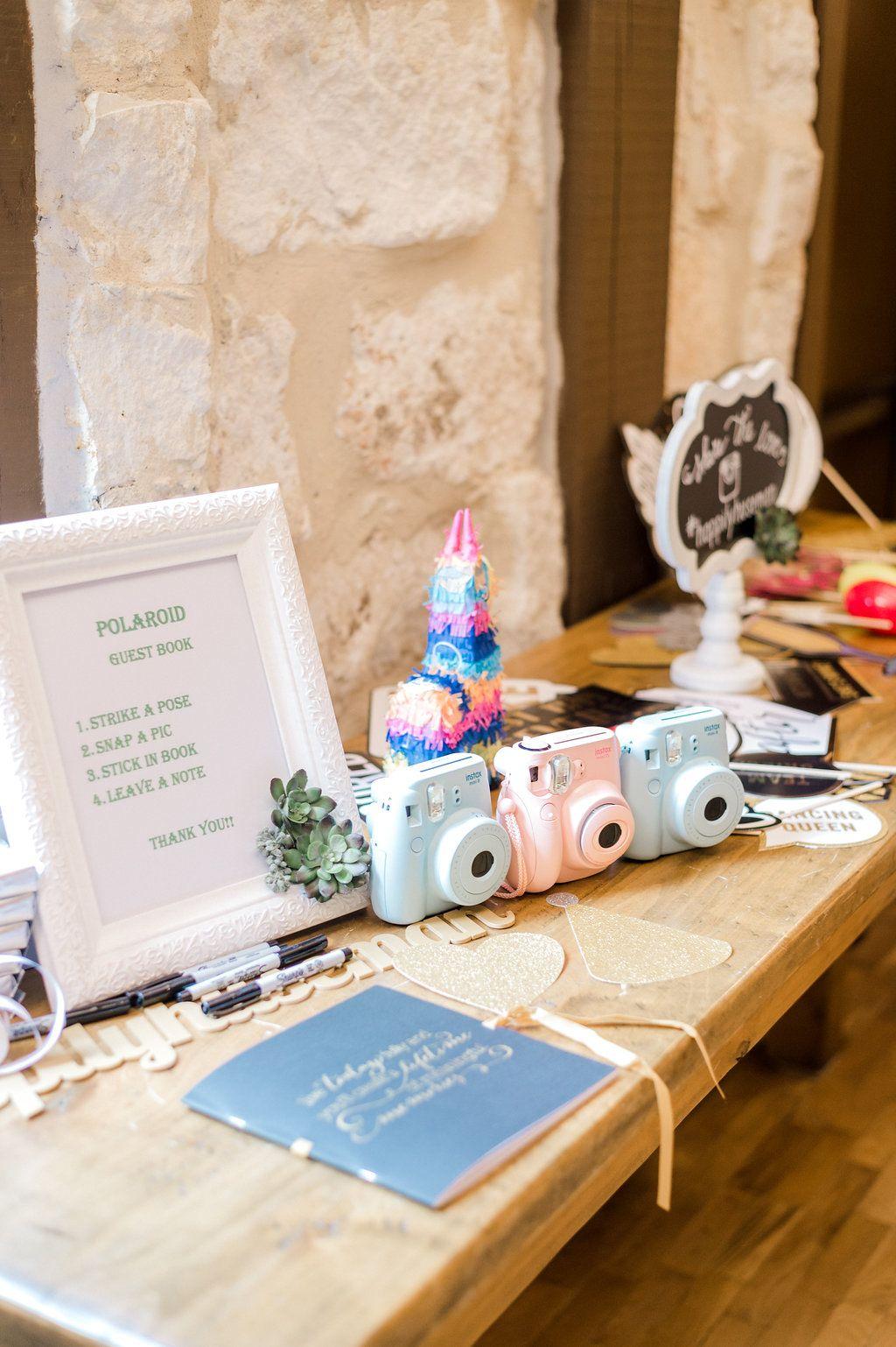 DIY polaroid guest book  wedding guest book ideas  DIY wedding