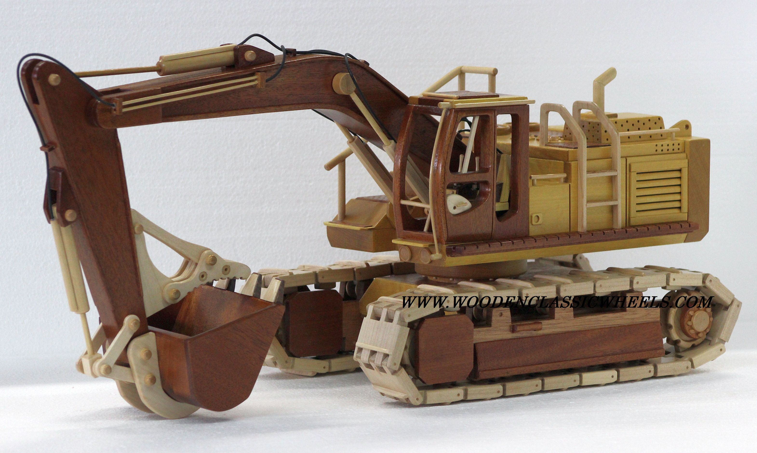 Custom Handmade Wooden model replicas