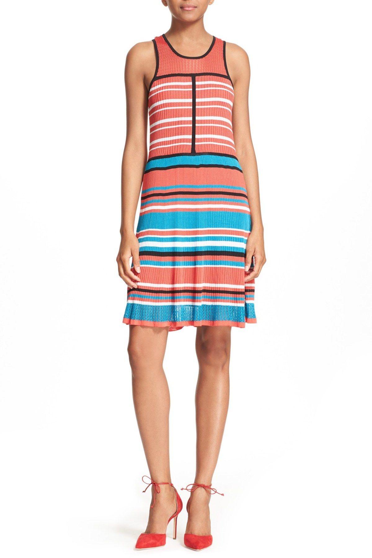 'Pammy' Stripe Knit Dress
