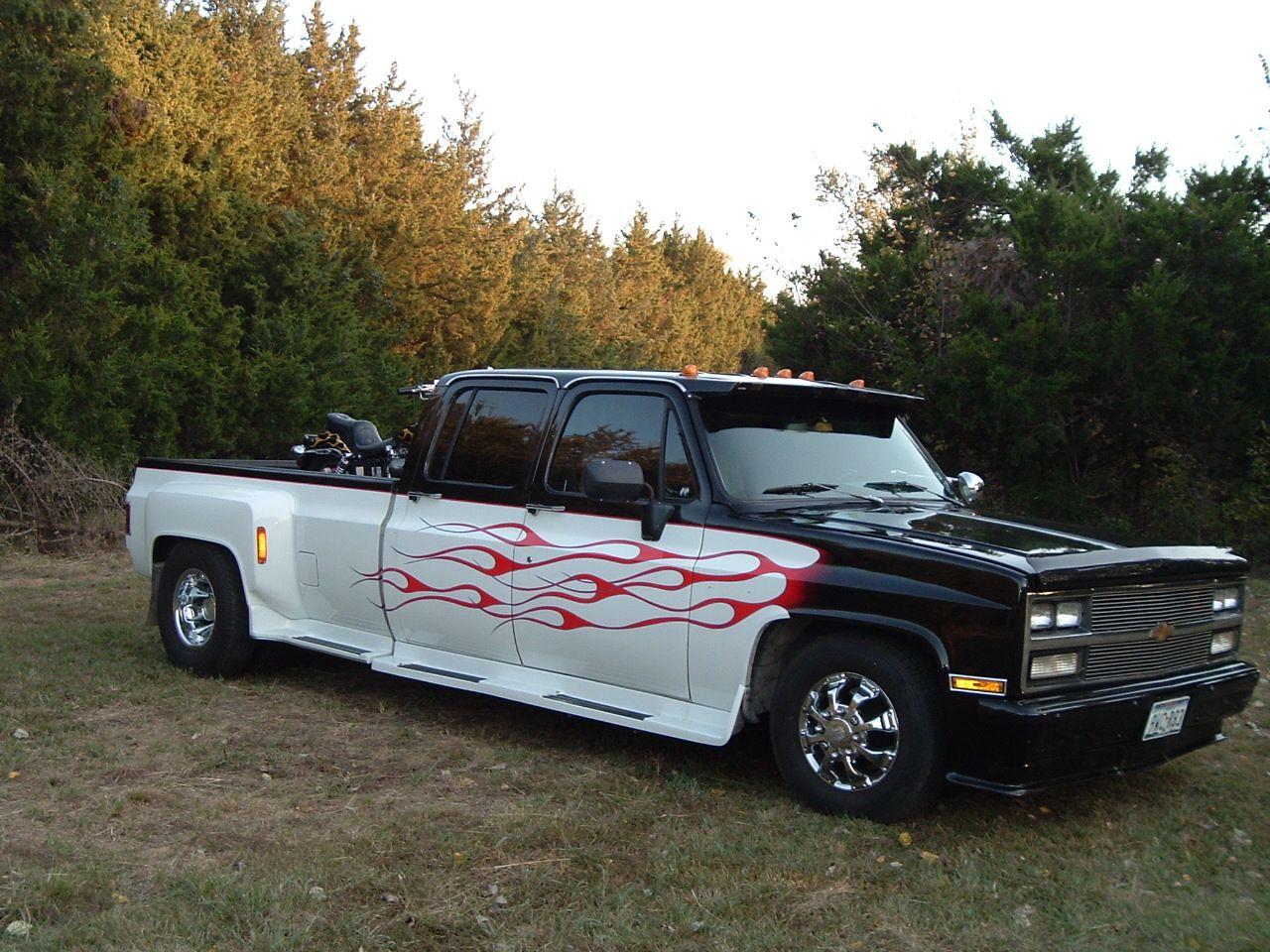 Customized lowered Chevy dually | Classic Cars, Trucks & Bikes ...