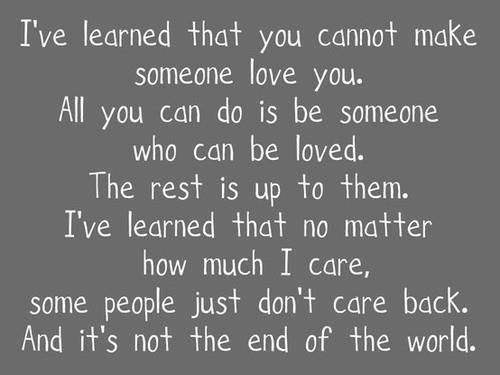 Very True Don T Waste Your Time On Those Who Obviously Don T Care If You Love Someone Words Quotes