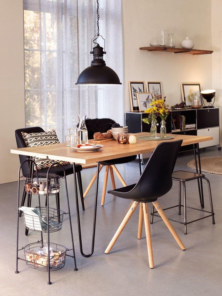 Micasa Esszimmer mit Stühle TOTTI Willkommen Wohlgefühl Pinterest - esszimmer modern gemutlich