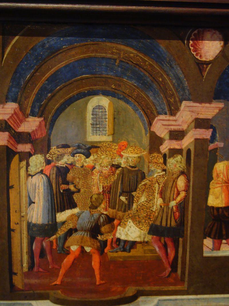 Ecouen-Musée Renaissance-Cassoni: ENEE ET ANTHENOR. E.CL.7506