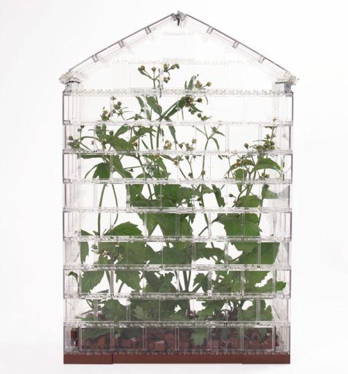 LEGO greenhouse #lego
