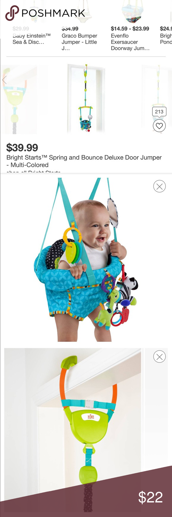Bright Starts bounce & swing door jumper The Bright Starts™ Bounce ...