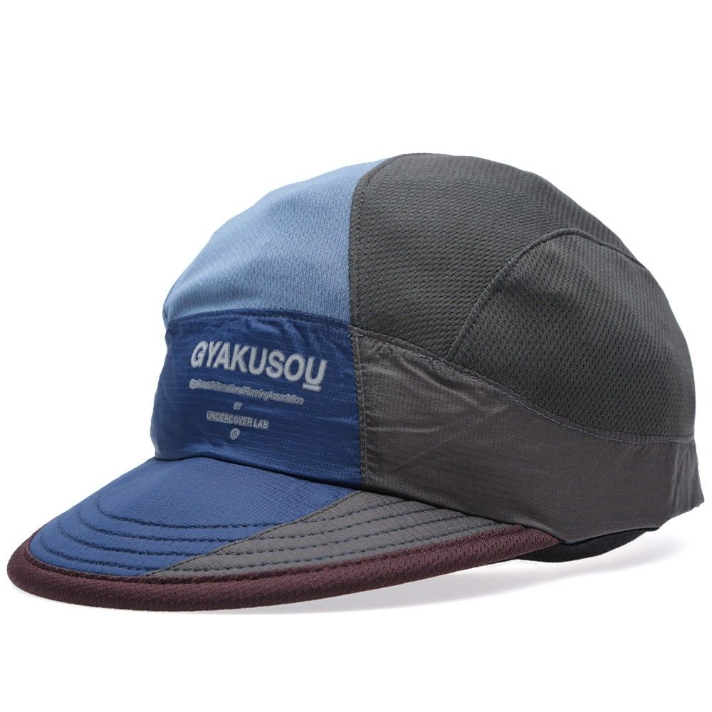 Nike x Undercover Gyakusou AS UC Dri-Fit Mesh Running Cap (Brave Blue    Night Stadium) b9b8c0621d2