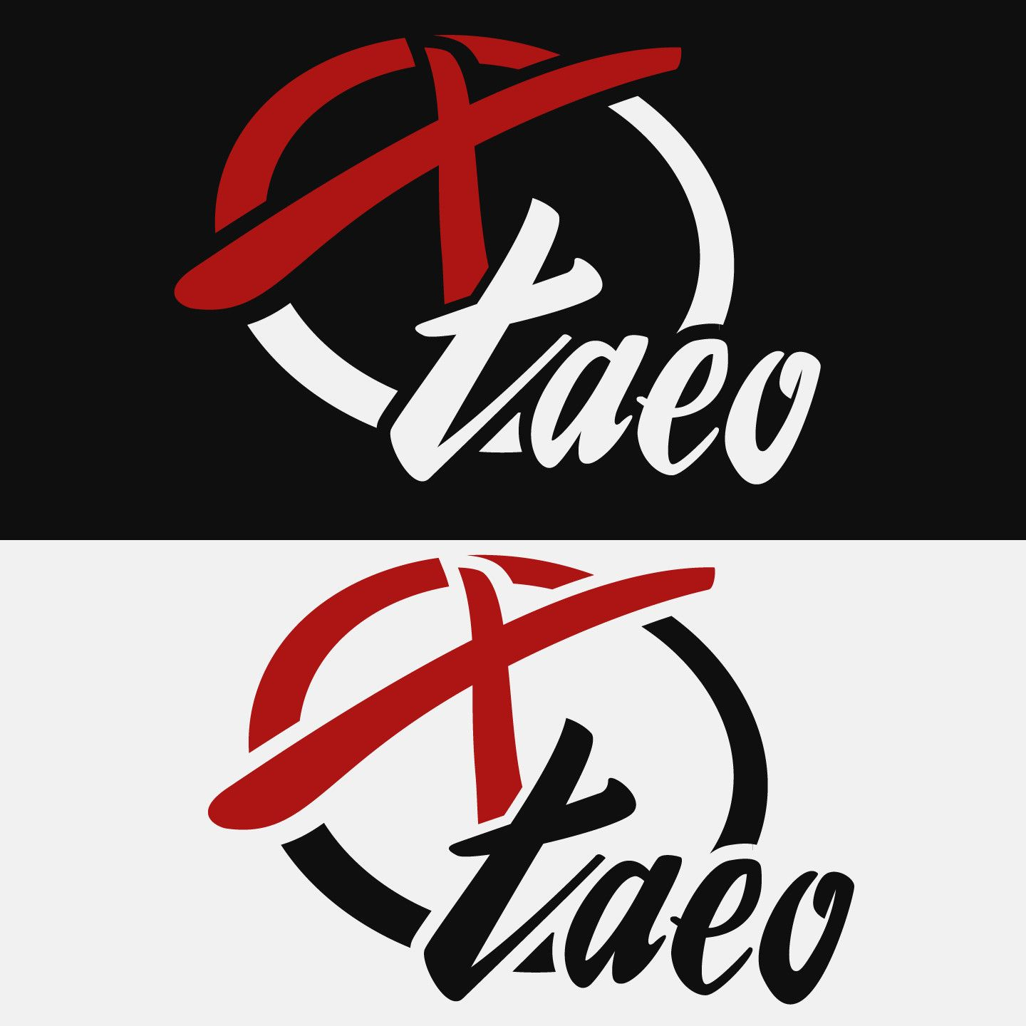 ArtStation Logo Design for Xtaeo Twitch Streamer