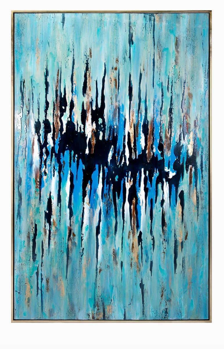 ded13ac28fe NK Enigma Oversized Framed Oil Painting 81 x 50 oil imax HUGE focal point   300 plus ships freight but retails  700 plus