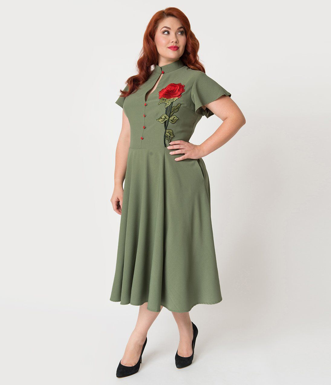 S plus size dresses clothing retro s and s