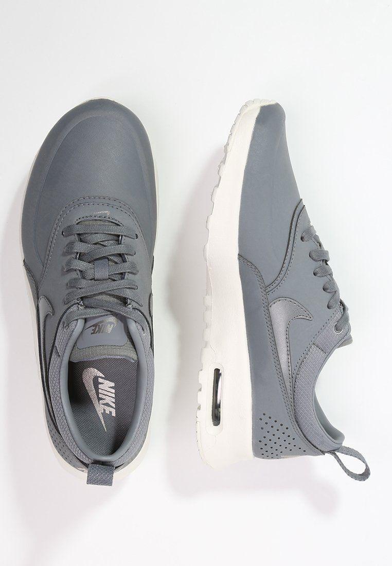 AIR MAX THEA - Sneaker low - cool grey/sail/metallic pewter | Zinn ...