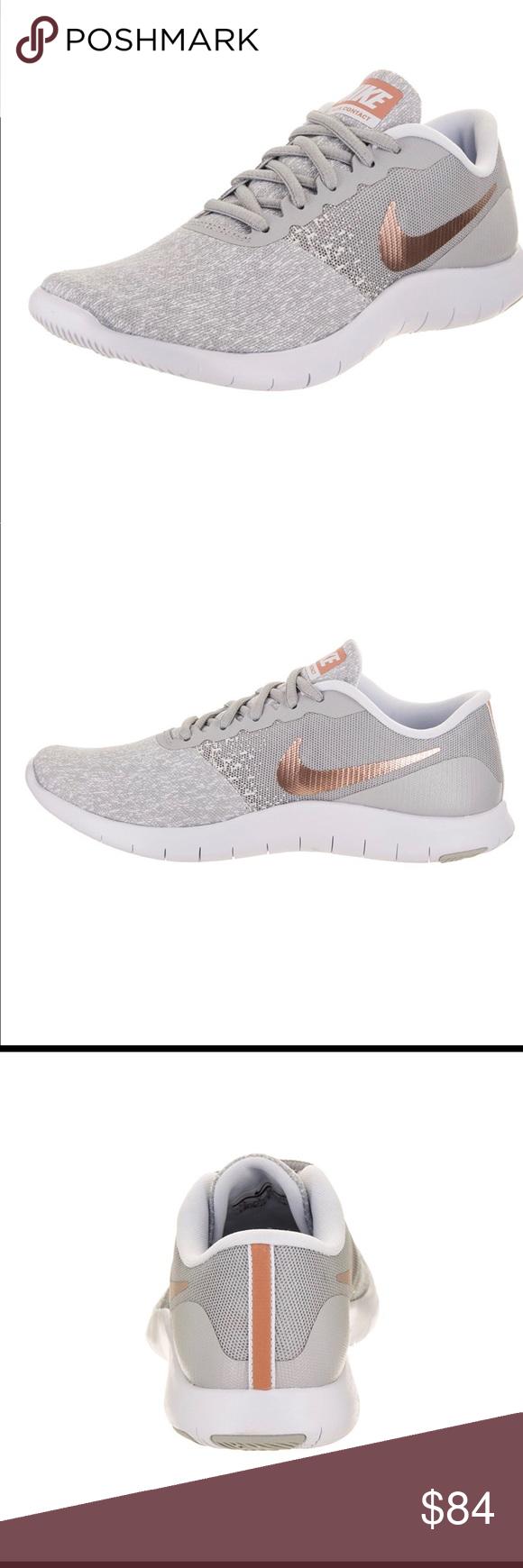 6d3cca598a6 Nike Womens Flex Contact Rose Gold Grey