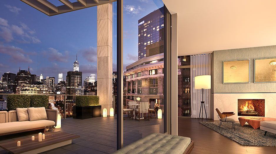Unique & Spectacular Penthouses For Sale In Soho NYC | One ...