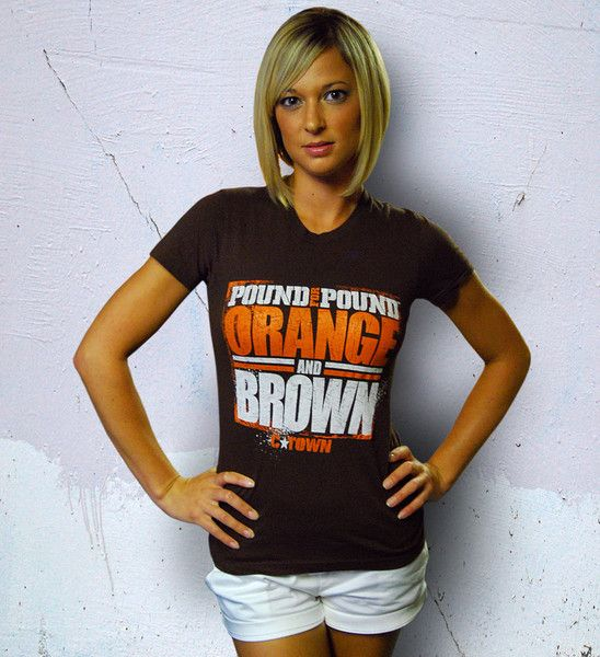 0e06859d Cleveland Browns Womens T shirt | Football: yes I'm a girl but who ...