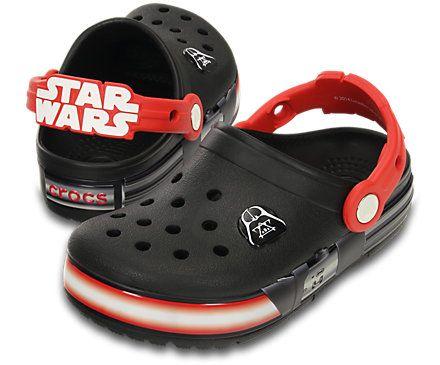 Crocs Kids Star Wars Darth Vader Clogs