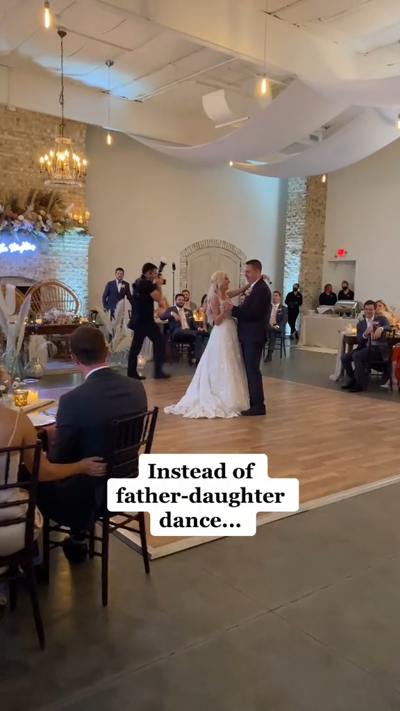 A Bride's First Dance with Her Brothers