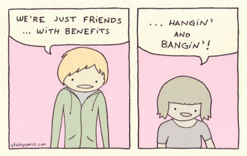 Friends with benefits problems