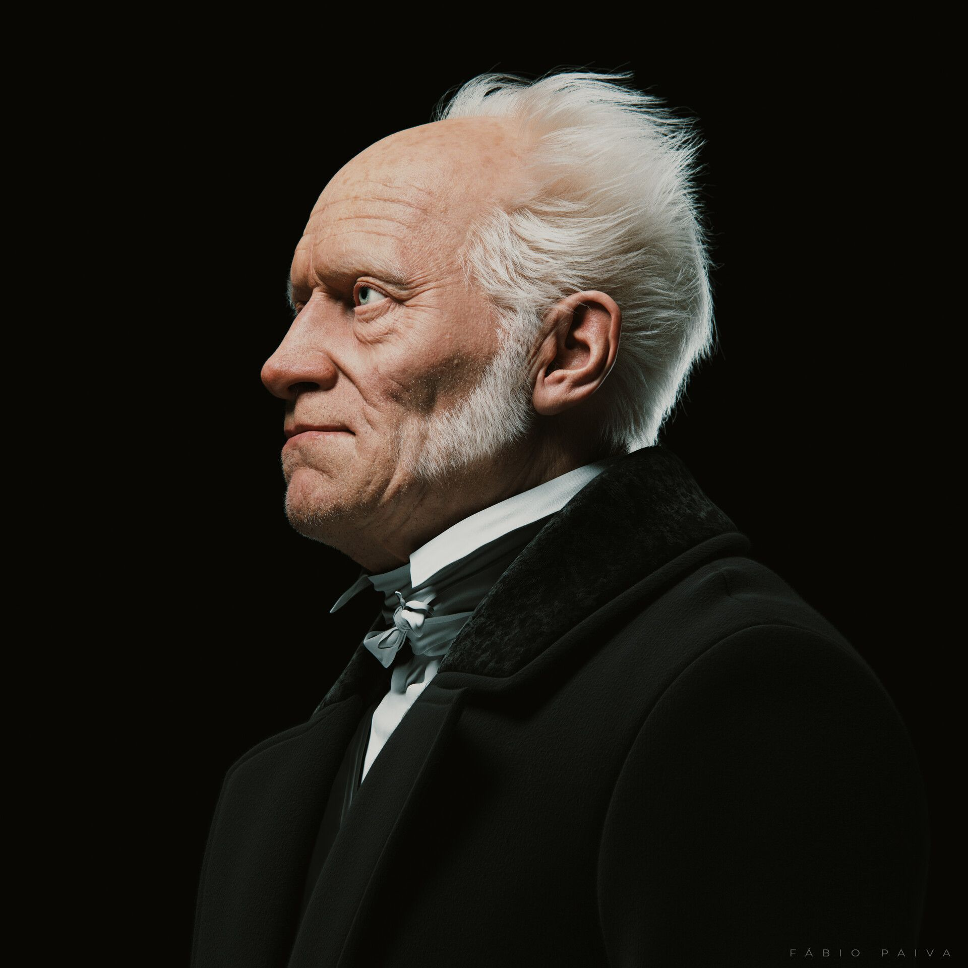 ArtStation - Arthur Schopenhauer - The Emptiness of Existence - Tribute,  Fabio Paiva | Arthur schopenhauer, Tribute, Famous scientist