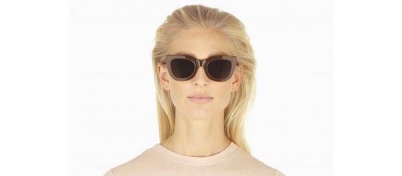 Oval sunglasses in Black Ace & Tate Q3lvc7Ihl