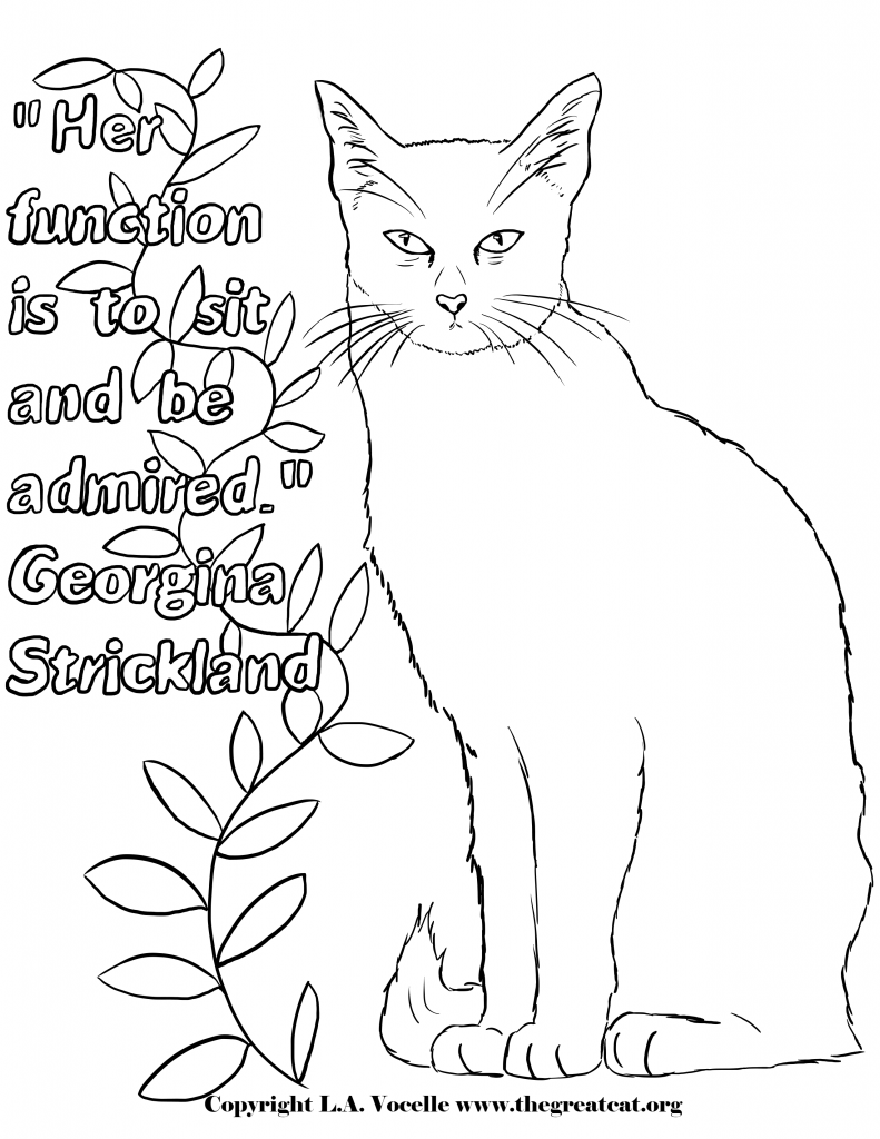 FREE COLORING PAGES | Cat coloring book, Coloring pages, Coloring pages for  boys