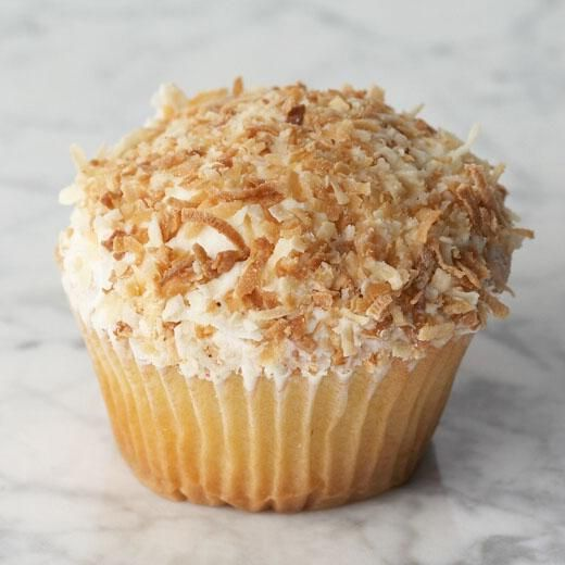 Vanilla Coconut - San Francisco Cupcakes