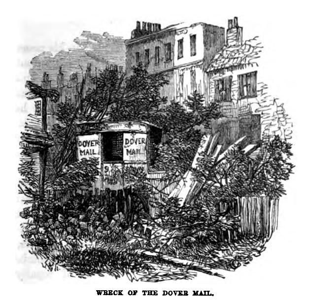 Wreck of the Dover Mail coach