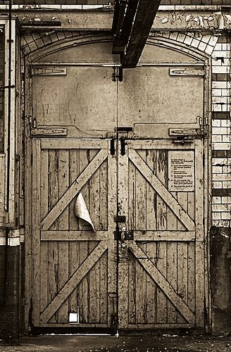 Warehouse Door & Warehouse Door | Passageways u0026 Portals | Pinterest | Warehouse ...
