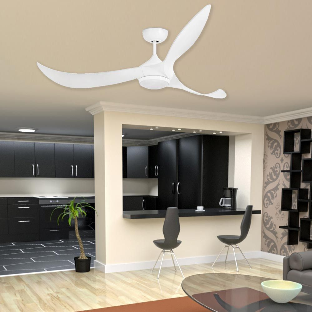 Modern curved blade ceiling fan cl 34875 ceiling fans summer cl 34875 is a modern curved blade ceiling fan with light which is an integrated aloadofball Choice Image