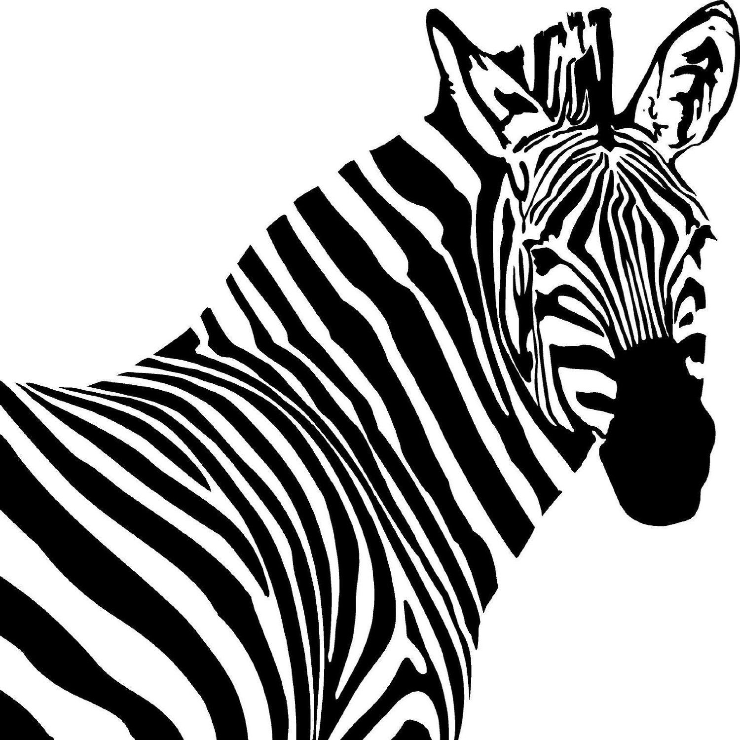 Zebra silhouette - Google Search | Silhouette | Pinterest