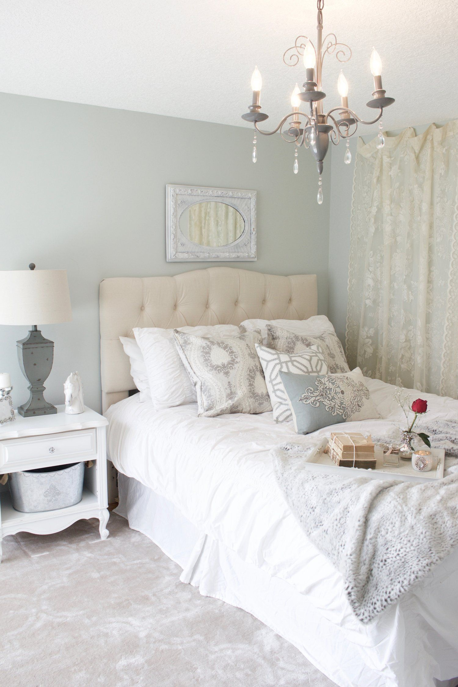 Bedroom Makeover. Before and After. Home bedroom, Guest
