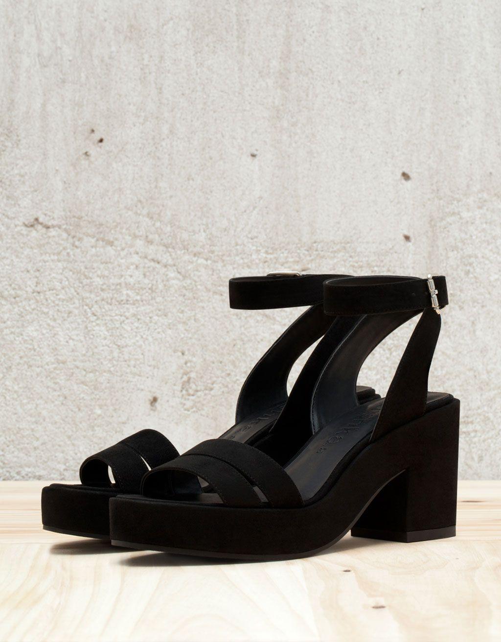 36be46fc69b6 Bershka Malaysia - BSK strappy low heel sandals