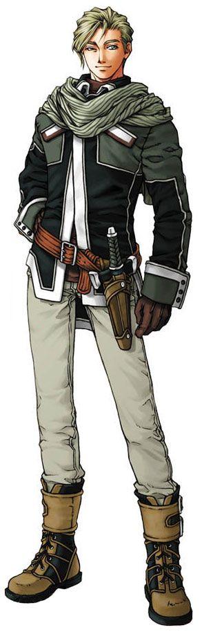 Nash Clovis - Characters & Art - Suikoden III