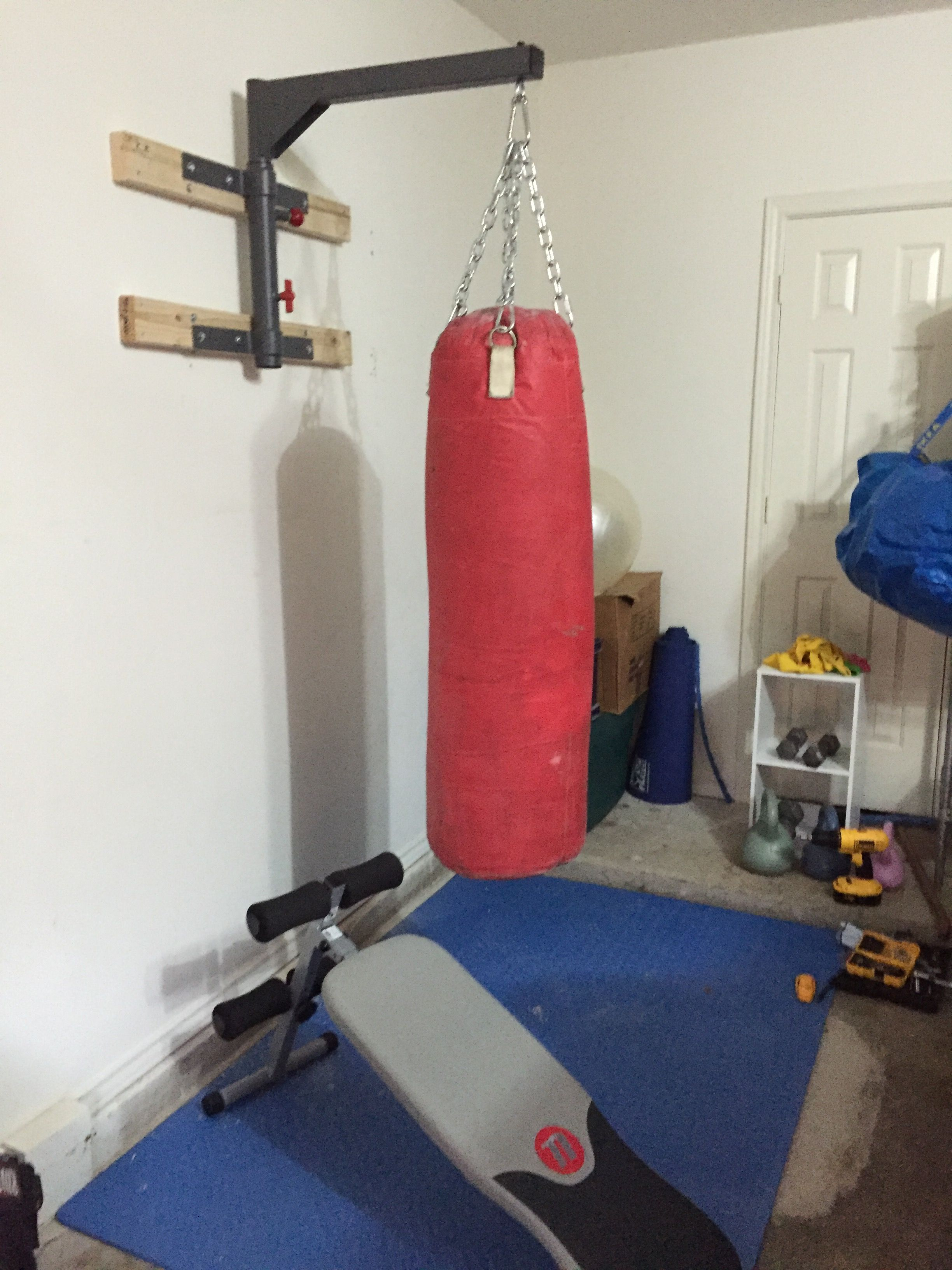 My Garage Gym Kettle Bells Heavy Bag Free Weights