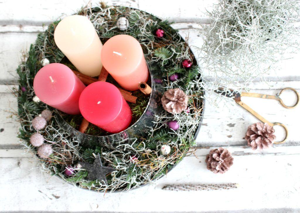 Adventsdekoration, Adventskranz, Wohndeko mit Tchibo | Weihnachten ...