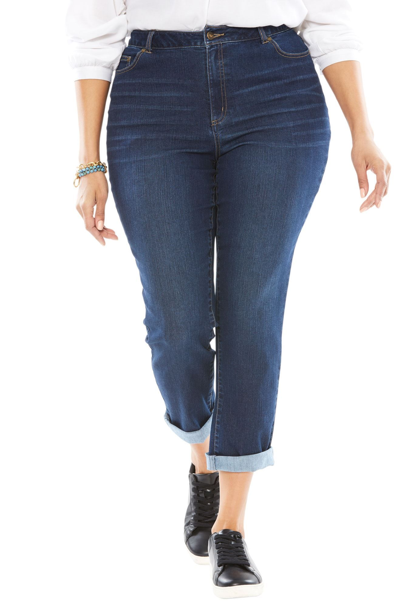 petite-women-stretch-jeans